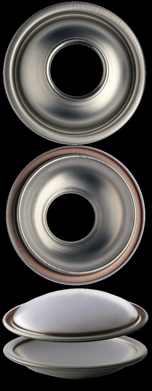 C60 F63 cupole fondi per bombole aerosol