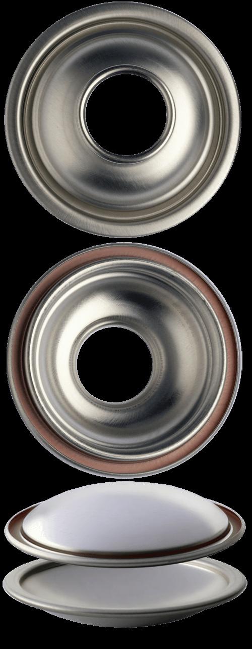C65 F65 cupole fondi per bombole aerosol